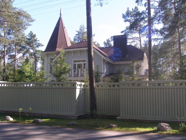 Подмосковный дом чиновницы
