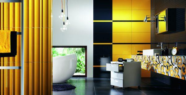 Желтый с черным