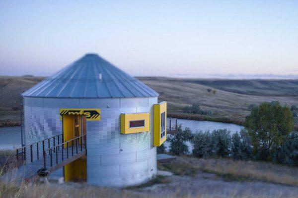 Зерновой бункер, США