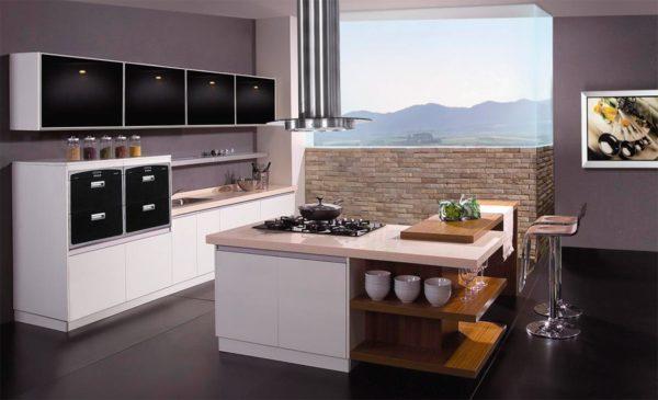 Кухня с островом на современный лад - модные идеи (70 фото)