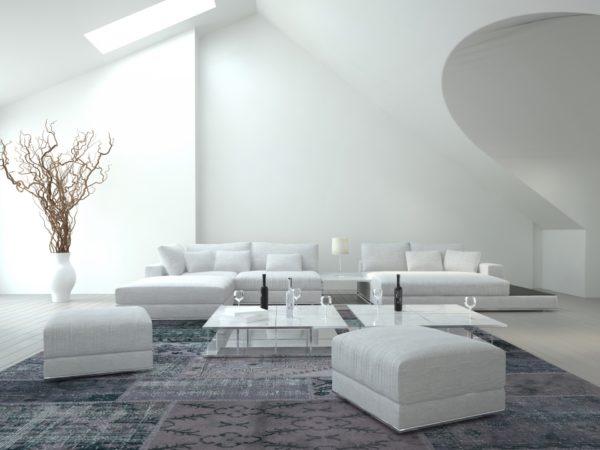 Белый интерьер - лучшие идеи (50 фото)