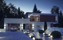 Новые и красивые проекты домов в стиле хай-тек