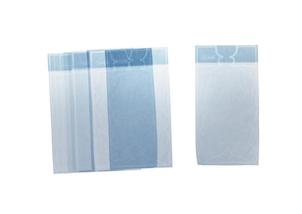 ИСИГА Пакет для кубиков льда, цвет голубой - 69 руб/10 шт