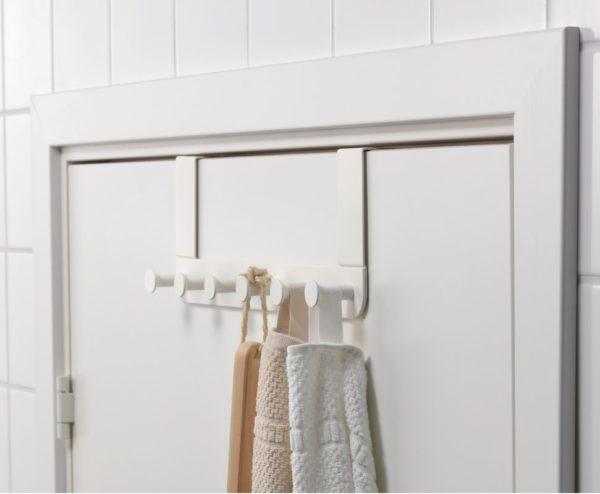 Дверная вешалка белого цвета (ЭНУДЭН)