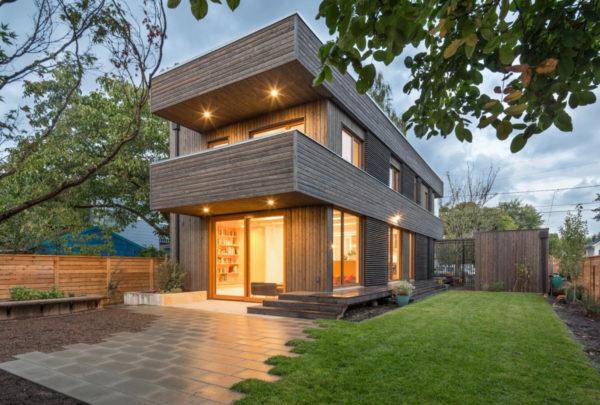 Новые проекты домов с плоской крышей 2019 года