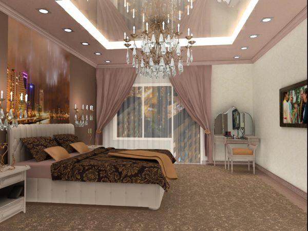 Модные люстры для спальни - 70 фото-идей