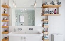 8 идей для обустройства ванной без шкафов