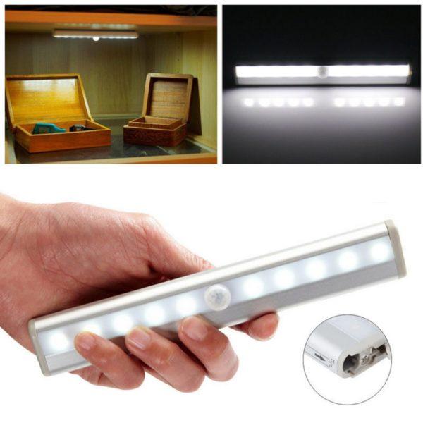 Сенсорный осветительный прибор для шкафа