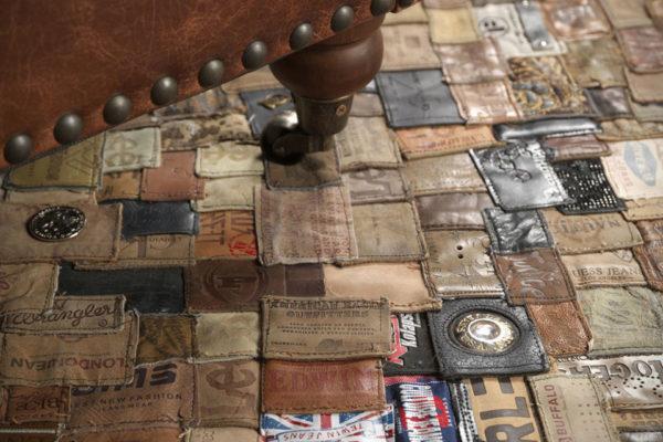Декор для дома из старых кожаных вещей