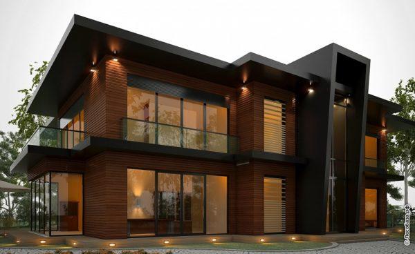 Современные отделки фасадов