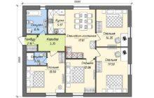 Одноэтажный Дом 10 На 12 Метров