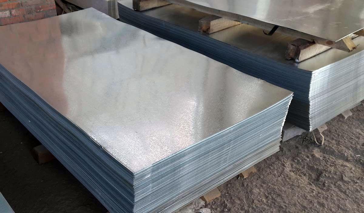Виды металлических листов