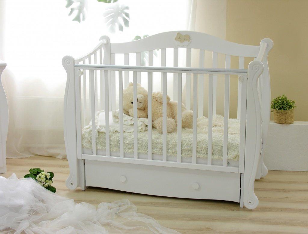 Открыток, картинки кроватка детская с ребенком