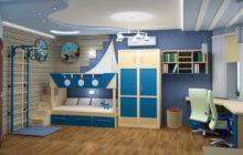 комнату для ребенка 4-6 лет