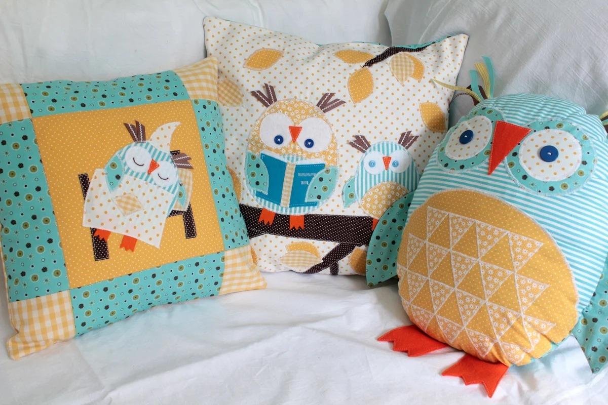 Как изготовить детскую подушку своими руками