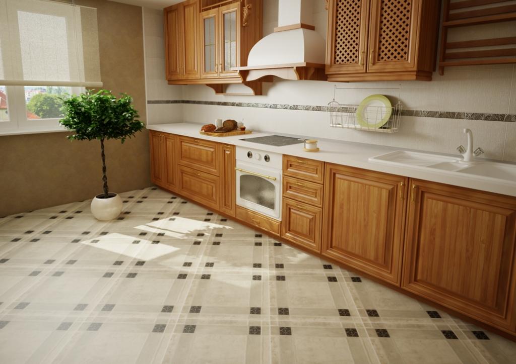 Как выбрать плитку на пол в кухню