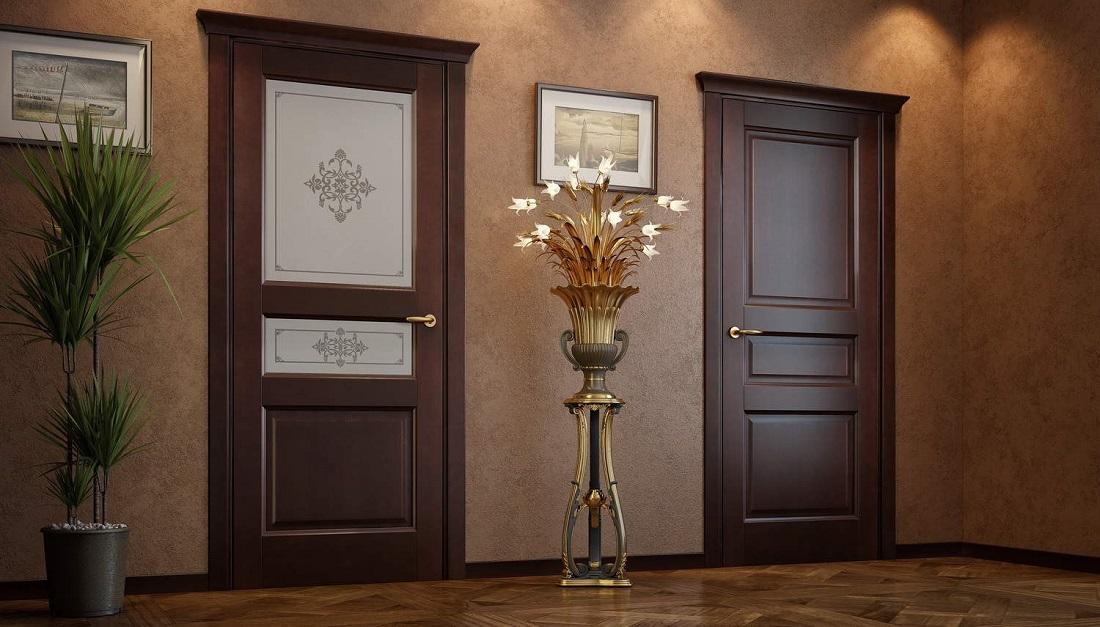 Какие лучше поставить межкомнатные двери в частный дом