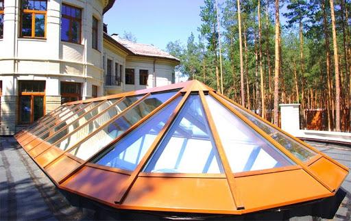 Зенитные фонари на крышу